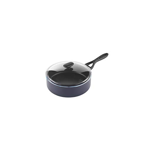 Arc International Cookware SARTEN Alta con Tapa 26CM Origin Pyrex, Negro, 26_cm