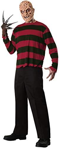 Pesadilla en Elm Street - Disfraz de Freddy Krueger, para adultos, talla única (Rubie