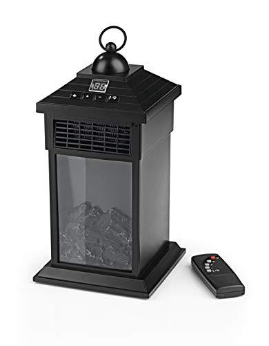 EASYmaxx LED Laterne mit Flammeneffekt und Heizfunktion