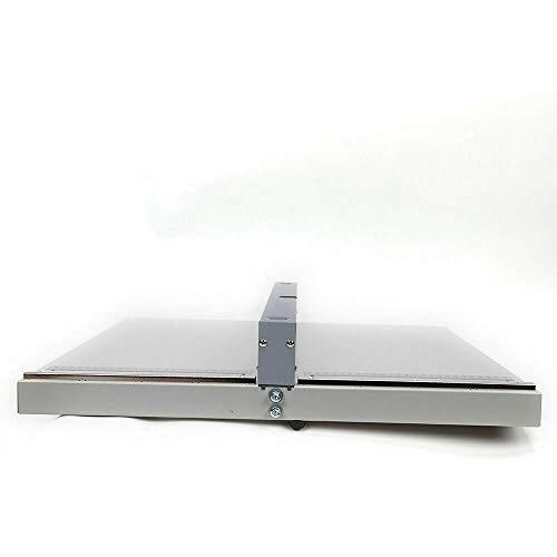 RDFlame Rillmaschine Nutmaschine Manuelle Faltmaschine für Papier, Maximale Knicklänge 455mm