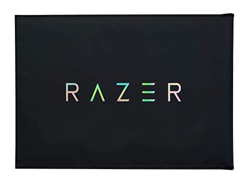 Razer Protective Sleeve V2 - Protective Sleeve for Laptops and Notebooks up to 39.6 cm (15.6 Inches): Robust Exterior Material and Interior that Can be Used as a Mouse Surface, 400 x 286 mm in Size