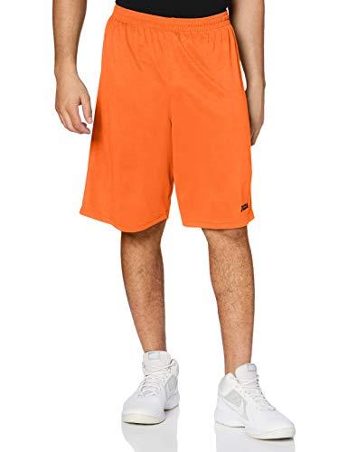 Joma 100051.800 - Bermuda Pirata, Color Naranja, Talla L