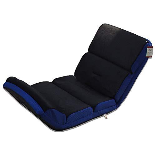 XMIMI Sedia da Terra Regolabile da Pavimento Lettino da Gioco con mobili da Ufficio per la casa(Color:Blue)