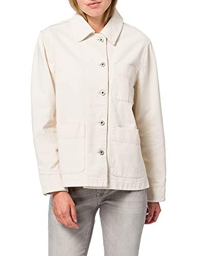 GANT D1. Organic Cotton Shirt Jacket Abrigo maxi Mujer
