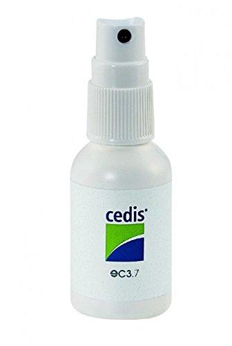 Cedis Reinigungsspray für Hörgeräte und Gehörschutz 30ml mit Zerstäuber (hautfreundlich) entfernt Ohrenschmalz und Hautfett