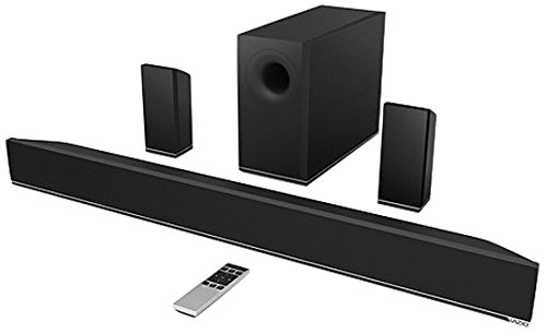 VIZIO S3851w-D4B 38-Inch 5.1 Sound Bar with Wireless Subwoofer and...