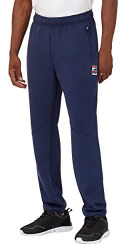 Fila Mens Active Track Pants (Peacoat, Medium)