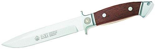 PUMA Cougar, 1.4112-Stahl, Jacaranda-Holz Messer, grau, M