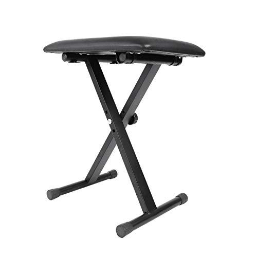 Pwshymi Chaise de Clavier Confortable de Tabouret de Clavier de Conception Pliante, pour l'exercice d'entraînement, pour l'amant de Piano