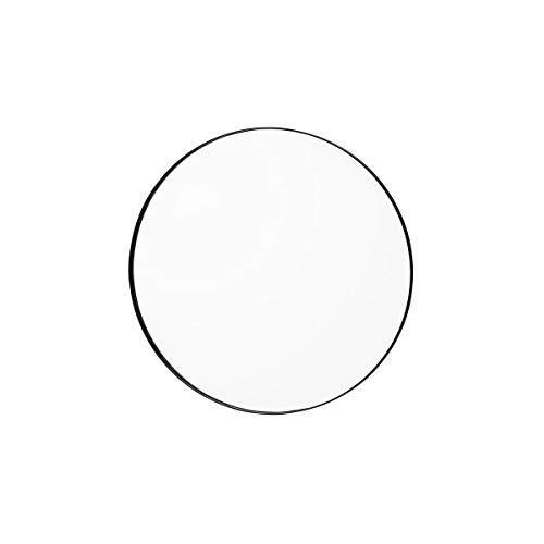 AYTM - Circum - Spiegel - helder/zwart - MDF/spiegelglas - Ø 70cm x H: 2cm