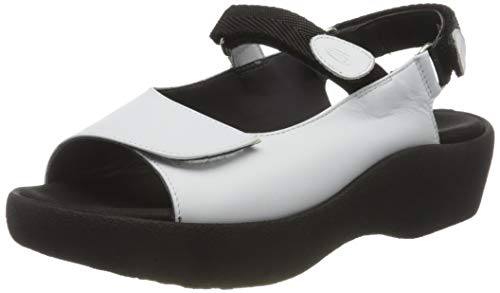 Wolky Comfort Sandalen Salvia - 30100 weiß Leder - 44