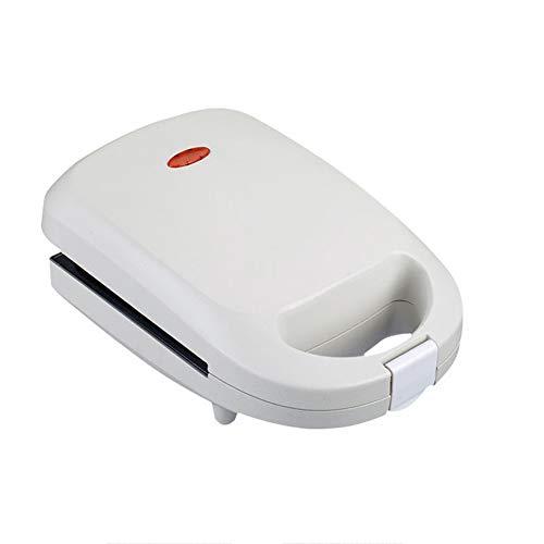 Mini Elektrisch Multifunctioneel 2 In 1 Wafelijzer Sandwich Maker Non-stick Keuken Oven Met Uitneembare Bakplaat Gemakkelijk schoon te maken Non-stick Zijden Geen Vuilnis Voor Ontbijt Lunch of Snack,White