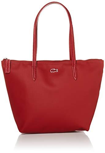 Lacoste L.12.12 Small Tote Bag, Alizarine