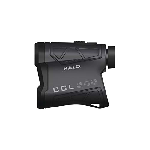 Halo Optics Range Finder CL300 | Hunting Laser Range Finder, Accurate Up to 300 Yards, Black, one Size (HALRF0107)