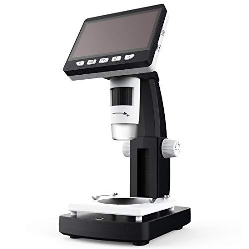 Productos electrónicos LGMIN INSKAM306 1080P Pantalla de Pantalla de 4.3 Pulgadas Puerto HDMI HD Microscopio Digital
