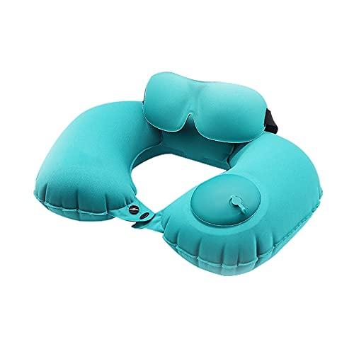 Erwubala Travel Pillows, Comfortable and Breathable Sleep Neck Pillows, Airplane and Car Travel Pillows, With Sleep Eye Mask (kit)