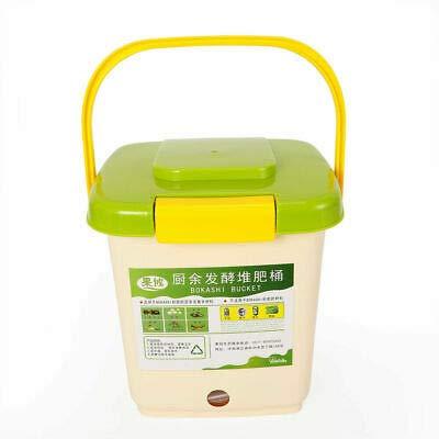 Kaibrite 9L Bokashi Seau Compost Conteneur Cuisine Compositeur Starter Set Ventilé Huas Cuisine