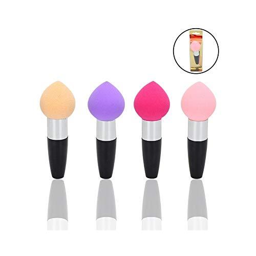Cwenjing Brosse de maquillage 1Pc avec la forme de goutte d'eau, outil de maquillage de brosse de base de silicone Idéal pour cadeau