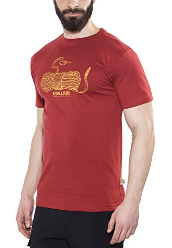 Edelrid Highball - T-shirt manches courtes Homme - rouge Modèle 46 2017 tshirt manches courtes