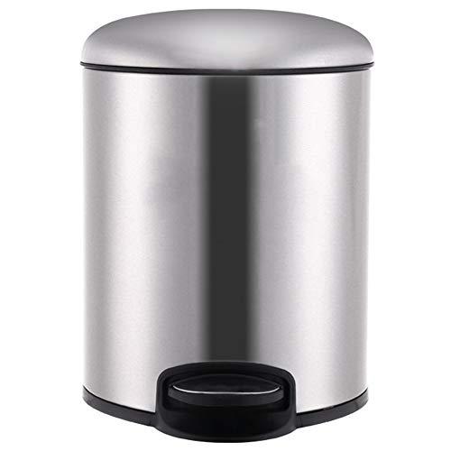 Afval Collector Prullenbak Pedaal Stille Sluiting Deksel Met Inner Emmer Deodorant Eenvoudig Te Reinig Duurzaam roestvrij staal, 4 Kleuren 3 Maten Garbage Separator