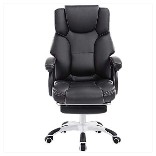 FENXIXI Boss Office Products - Silla de felpa doble resistente, silla de jefe reclinable, silla ejecutiva, silla de masaje
