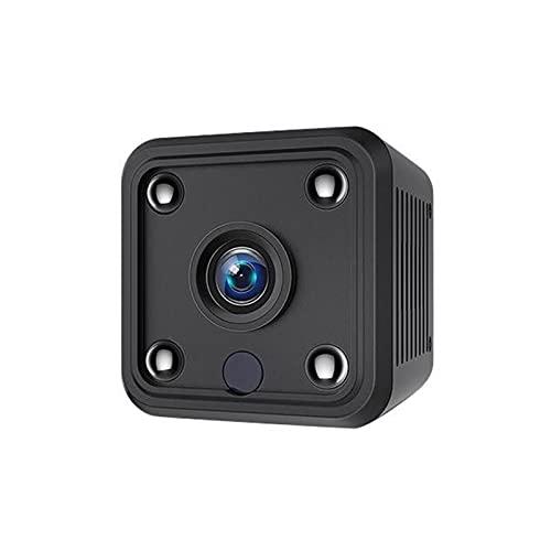 Mini cámara, con detección de movimiento y función de visión nocturna infrarroja.Cámara de seguridad de alta definición de alta definición, vida útil de la batería larga, cámara de videollamadas, adec
