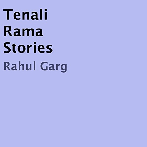 Tenali Rama Stories audiobook cover art