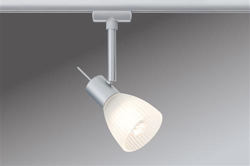 Paulmann 951.19 Stromschienensystem, Metall, GU10, transparent