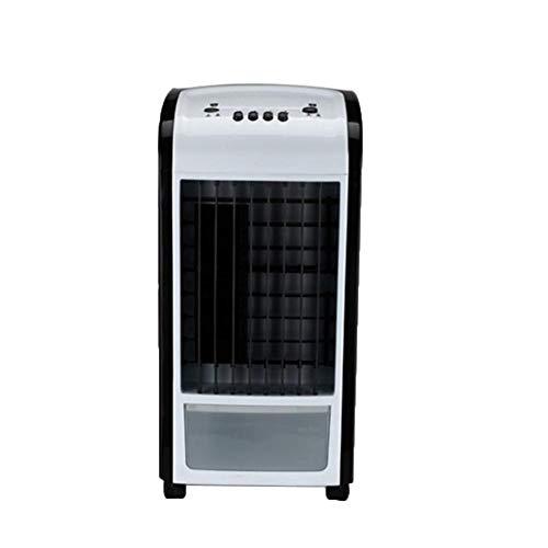 sunnymi 4 in 1 Klimaanlage Manueller Ventilator Lufterfrischer Klimageräte Klimagerät Verdunstungs Lüfter Kühler Luftbefeuchter (Schwarz)