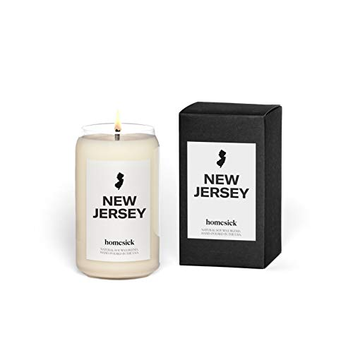 Homesick Scented Candle, New Jersey