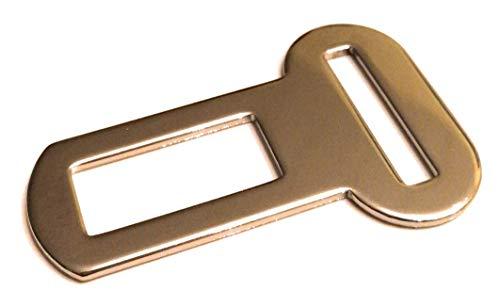 BINEACTIV Gurtschloss-Adapter für Hunde-Sicherheitsgurt für das Auto, Isofix Befestigung, drehbarer Aluminium-Karabiner, Ruckdämpfung, längenverstellbar (Adapter)