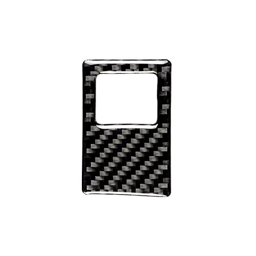 YUQIYU Estilismo de Autos de Advertencia Interruptor de luz de Advertencia Recorte de Fibra de Carbono Etiqueta de Fibra de Carbono Accesorios de decoración para VW Golf 7 GTI MK7 2014 -