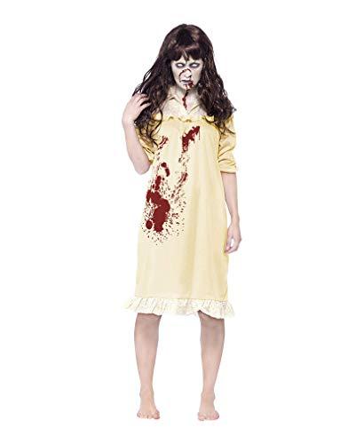 Horror-Shop Blutiges Zombie Nachthemd XS