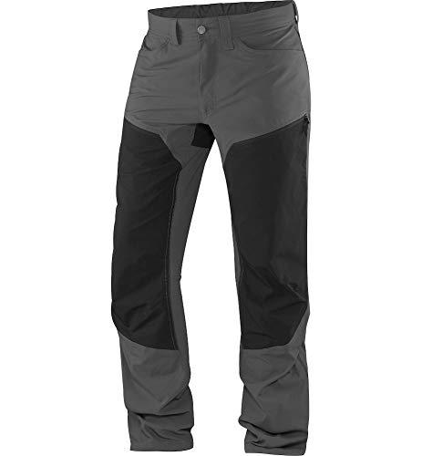 Haglöfs Wanderhose Herren Outdoorhose Mid Flex Atmungsaktiv, Elastisch Magnetite/True Black XL XL