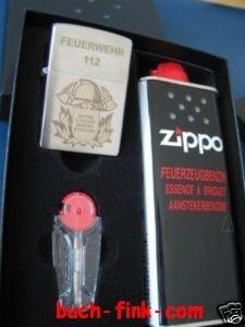 Zippo Feuerzeug  Feuerwehr Geschenk-Set