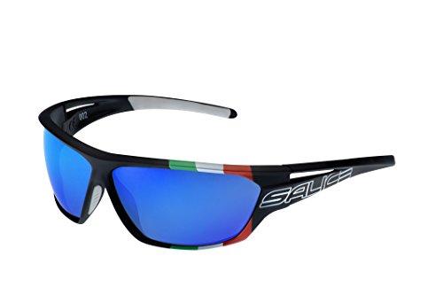 Salice 002ITA, occhiale Sportivo Unisex – Adulto, Nero, Medium
