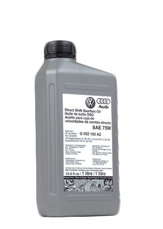 Geniune Volkswagen , Audi DSG Transmission Oil - 1 Liter G052182A2 / G0521821LDSP