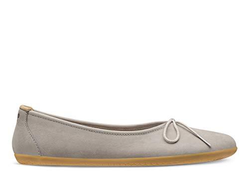 Vivobarefoot Womens Jing Jing Lace Nubuck Zinc Shoes 7 US