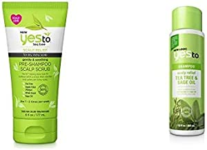 Yes To Tea Tree: Scrub + Shampoo