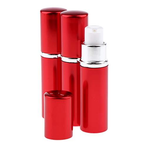 MERIGLARE 3 Pièces Vide Vaporisateur Pompe Pompe Bouteille Liquide Pompe Distributeur - Rouge