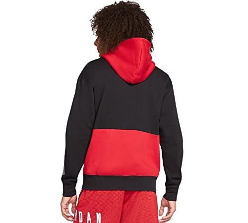 felpa jordan uomo Nike Felpa Jordan Jumpman GFX 010 Nero