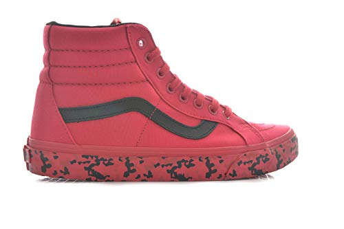 Vans Sk8-hi Reissue, Sneakers Uomo, Rosso (Geo Lines), 40.5 EU