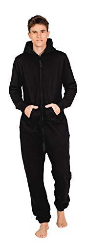 Moniz Herren Jumpsuit (L, Vulcano Black)