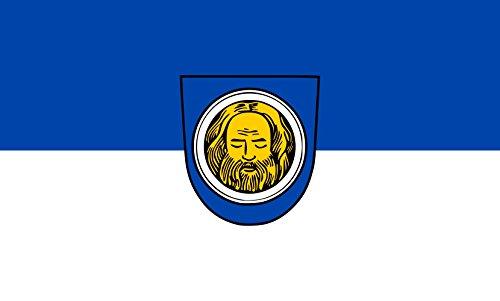 Unbekannt magFlags Tisch-Fahne/Tisch-Flagge: Künzelsau 15x25cm inkl. Tisch-Ständer
