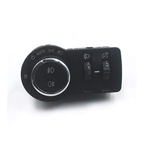 Daojun Control de los Faros en Forma for el Buick Encore Chevy Cruze Malibu Auto GM13301749 de Faros antiniebla Interruptor de botón + envío Libre! (Color : Auto High Lever)