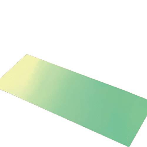 zhixing Gemusterte hautfreundliche Fußauflage Antifouling Umweltfreundlich Fußmatte Schmutzig Nicht Verblasst Badezimmermatte Saugfähige rutschfeste Matte für Küche Schlafzimmer Eingangshalle Boden
