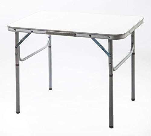 TMM Klapptisch Picknick-Tisch Campingtisch Aluminium/Kunststoff 75x55x60cm (LxBxH) / Zusammen klappbar/Inklusive Tragegriff/Wetterfest und stabil verarbeitet