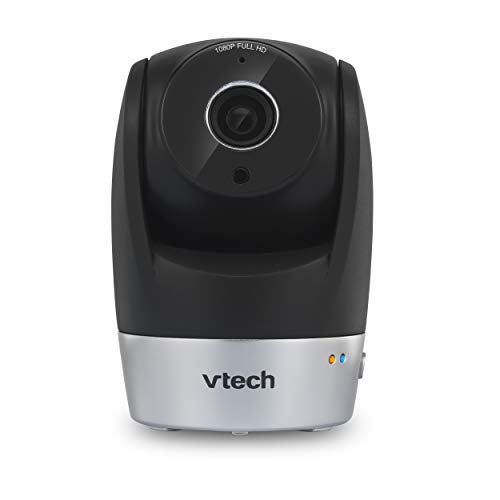 VTech VC9511 Wi-Fi IP Camera with 1080p Full HD, Remote Pan & Tilt, Free Live Streaming, Free Motion-Detected Recording, Automatic Infrared Night Vision & Smart Security Alarm