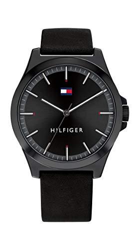 Tommy Hilfiger Reloj para de Cuarzo con Correa en Cuero 1791715