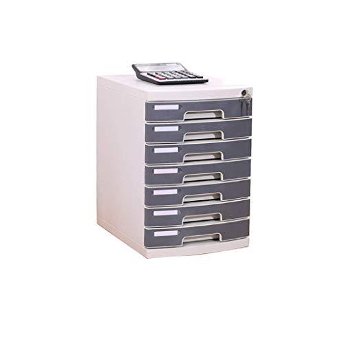 Muebles para el hogar Clasificador de cajones Gabinete de limpieza de escritorio Cajón cerrado Gabinete de datos Estantes para periódicos Estuche para papelería Gabinete para recibos de oficina Mul